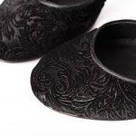 scarpe in velluto artigianali